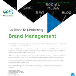 Online Brand Management Services Delhi, India