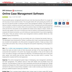 Online Case Management Software