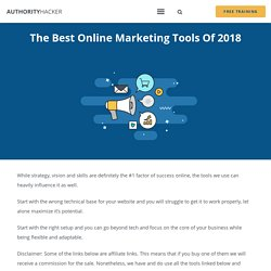 Online Marketing Tools - Authority Hacker