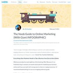 The Noob Guide to Online Marketing (With Giant INFOGRAPHIC)