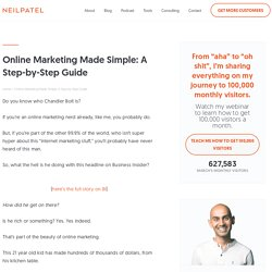 Online Marketing Made Simple: A Step-by-Step Guide