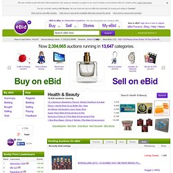 eBid Online Auctions - Buy & Sell in our Fee Free Internet Auctions for Europe