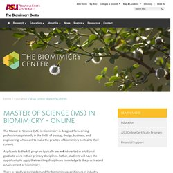 ASU Online Master's Degree