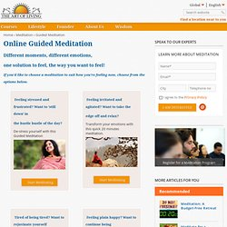 Online Guided Meditation