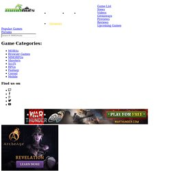 Free Online MMORPG and MMO Games List