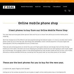 Online Mobile Phone Shop UK