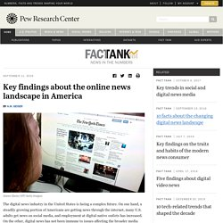 Online news in the U.S.: Key facts