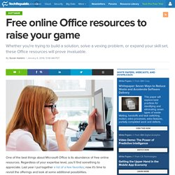 Free online Office resources to raise your game