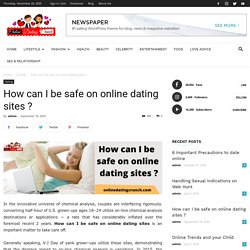 How Can I Be Safe On Online Dating Sites