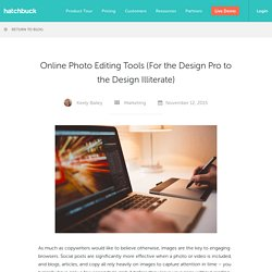 Online Photo Editing Tools For Small Business