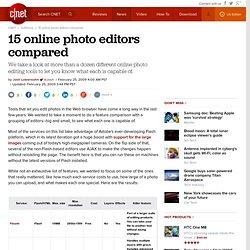 15 online photo editors compared