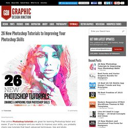 Free online Photoshop tutorials - 26 PS Tuts