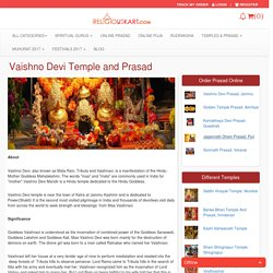 Book Online Puja and Prasad at Maa Vaishno Devi Temple