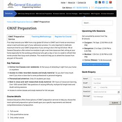 Best Online GMAT Preparation Service in India