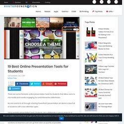 15 Best Online Presentation Tools for Students