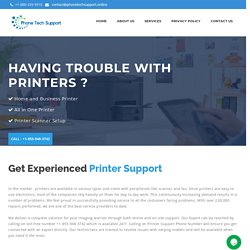 Online Printer Support in USA-Phone Tech Support