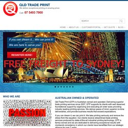 Who We Are: Online Printing Services