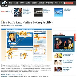 Men Don't Read Online Dating Profiles
