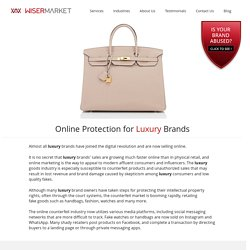 Online Protection for Luxury Brands