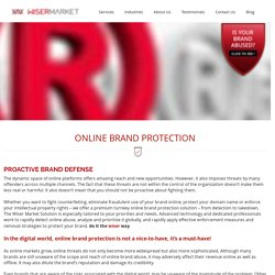 Online Brand Protection Services