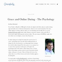 Grace and Online Dating - The Psychology — Gracefully.Tech