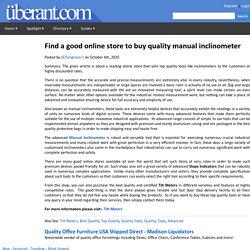 Inclinometer Design