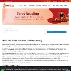 Free Online Tarot Card Reading from Expert Astrologer