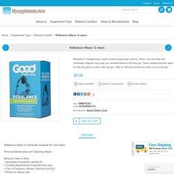 Buy ReBalance Wipes Online for Women Health
