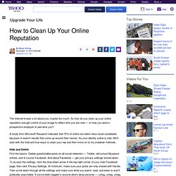 How to Clean Up Your Online Reputation | Upgrade Your Life