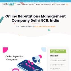 Online Reputations Management in Delhi NCR