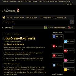 Judi Online Bola resmi - Online Casino Mukabet88
