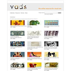 the online resource for visual arts - Collections