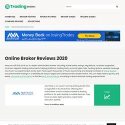 Online Broker Reviews 2020 - TradingBrokers.com