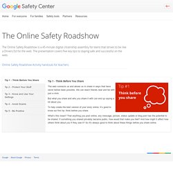 The Online Safety Roadshow – Safety Center – Google