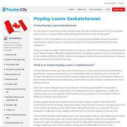 Online Payday Loans in Saskatchewan