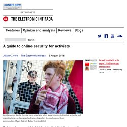 A guide to online security for activists