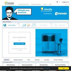 Online 3D Print Service - 3D Model Upload