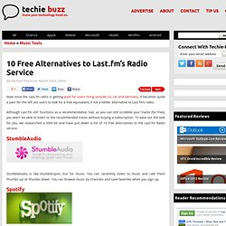 Free Online Radio Services: Last.fm Alternatives