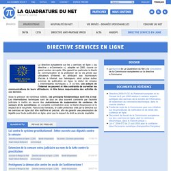 Online services directive