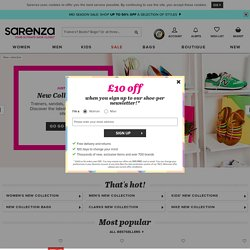SARENZA.CO.UK | Online Shoe Shop | Shoes | Sales | UK Footwear Store