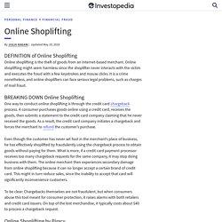Online Shoplifting (Dropshiping) - Kradież w sieci (