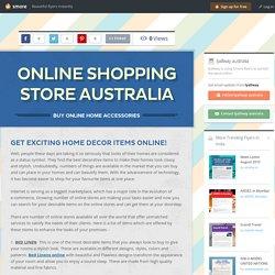 Online Shopping Store Australia