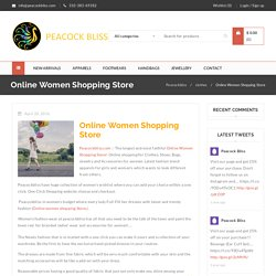 Online Women Shopping Store - Peacockbliss (Las Vegas)