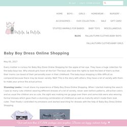 Baby Boy Dress Online Shopping – petitelapetite