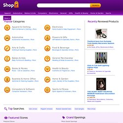 Shopr.com - shop with friends, family, and experts, share your knowledge, discover new products, stores, and brands!