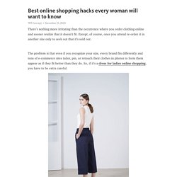 Best online shopping hacks every woman will want to know – Telegraph