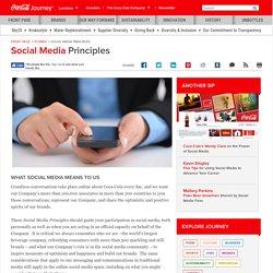 Online Social Media Principles
