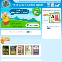Children's Stories Online - Free Children's Books for All Ages | Story Time For Me