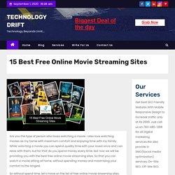 15 Best Free Online Movie Streaming Sites