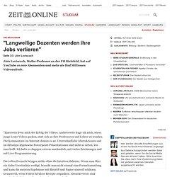 Online-Studium: Jörn Loviscach